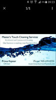 Master's touch cleaning services