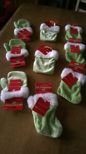 9 Furry Mittens/Purse/Stockings Gift Card Holders