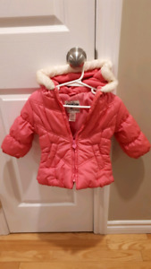 Girls winter jacket 12 months