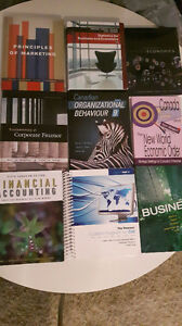 Dalhousie textbooks (1st and 2nd year commerce/general courses)