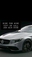 ((Alternate Uber/taxie)) ride for hire 204-819-3330....