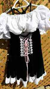 Ladies barmaid costume. Includes beer purse and frilly undies an Peterborough Peterborough Area image 1
