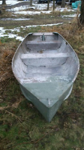 14'  Aluminum Boat/ Trade For Fishing Tackle?