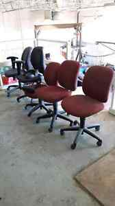Office chairs for sale. $15 each 4 for $50. There not brand new!
