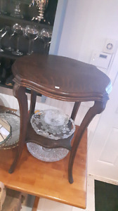 Beautiful antique side table or plant stand
