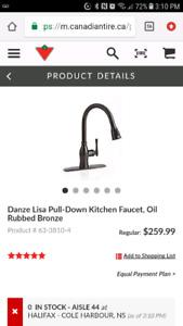 Danze lisa pull down faucet