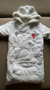 0 to 3 month car seat suit