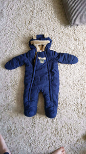 George Baby Snow Suit. 6-12 months