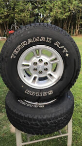 TIRES FOR SALE  31x10.50R15  TERRAMAX A/T