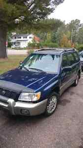 Subaru forester 2001 and extra engine for parts