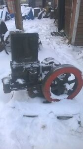 Old oil feild engine