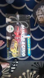 Mini racing scalextric