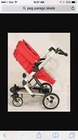 Peg Perego Skate stroller and Car seat