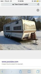 Wanted free travle trailer any condition no emails