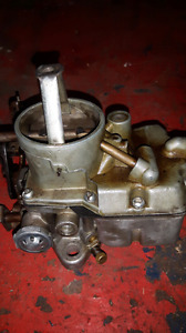 Two ford autolite 1100 carbs