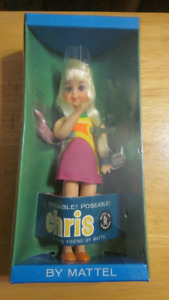 Vintage 1967 Chris doll by Mattel