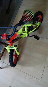 Lime green bike 2 wheeler for sale