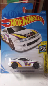 Hot wheels KW Custom 01 Acura Integra GSR