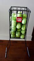 Wilson 55 Tennis Ball PickUp basket/Panier pour Balles de Tennis