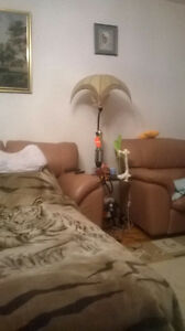 Rent for short/long term apartment with 2 rooms ready to move in