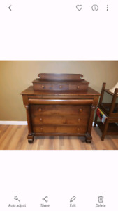 Beautuful hard wood dresser