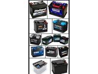Car n van Batterys wanted £5 each