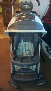 GRACO STROLLER & CARSEAT DUO Peterborough Peterborough Area image 3