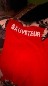 T-shirt Sauveteur pour fille