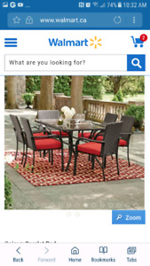 Wanted: Tuscany table set and conversation set