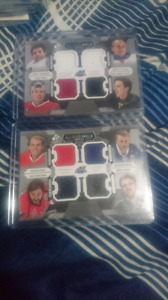 2015-16 All-star skills fabrics quad cards