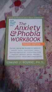 Anxiety and phobia workbook  Peterborough Peterborough Area image 1