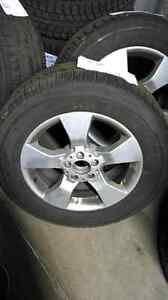 Winter tires and wheels Mercedes Glk Pneus d'hiver sur roues