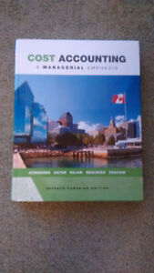 Cost Accounting: A Managerial Emphasis, 7th Edition