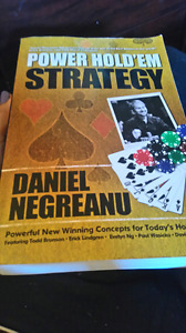 Texas hold'em strategy book