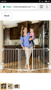 Regalo 76 inch baby safety gate