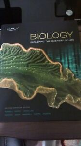 Biology: Exploring the Diversity of Life - Second Canadian ed. Windsor Region Ontario image 1