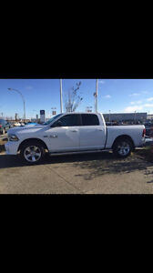 2015 Dodge 1500 sport Pickup Truck- crew cab LOW kms