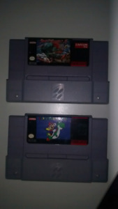 Super Nintendo SNES Video Games Street Fighter Super Mario World