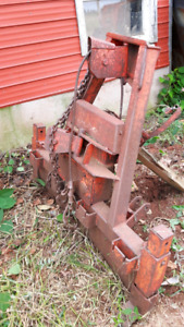 Logging winch tractor 3 point