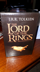 Lord of the rings 7 book set.
