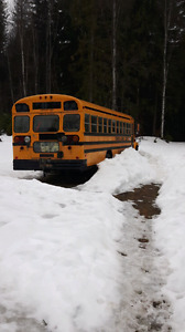 1992 Ford Bluebird School Bus