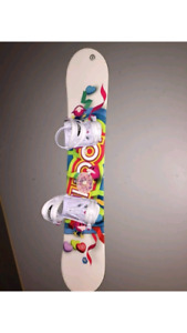 **MUST SELL**Girls Snowboard and Boots for Sale