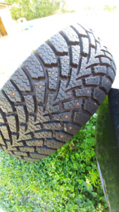 225 65 16 studded winter tires! Excellent condition!