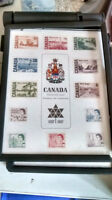 Stamps with coins