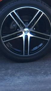 "5x100mm 18"" Fast reverb wheels"