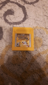 Pokemon Yellow For Gameboy  *All 8 Gyms Beat*