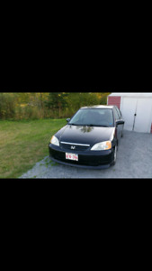 2002 Honda Civic Special Edition TRADE FOR AUTOMATIC