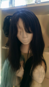 New Brazilian human hair lace front dark brown try first so natur New Farm Brisbane North East Preview