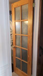 Porte vitré