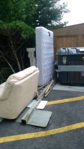 FREE almost new Sofa and Mattress